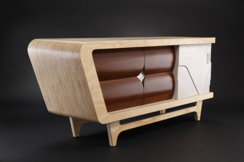 Innovative Credenza Furniture Retro Style Design (View 5 of 10)