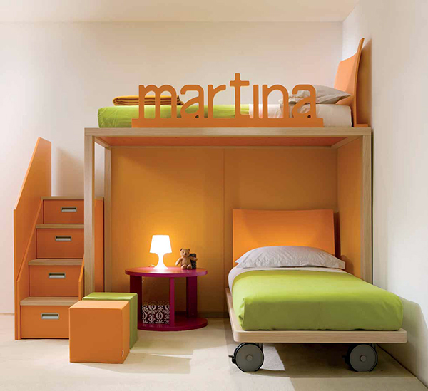Kids Bedroom Ideas With Simple Furniture (View 2 of 10)