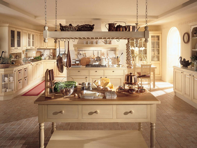 Kitchen In Country Style (Image 3 of 8)