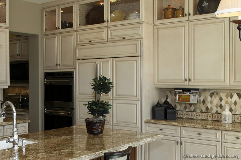 Large Antique Kitchen Cabinet (Image 7 of 10)