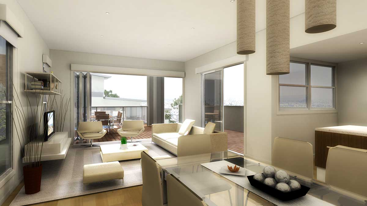 Large Luxury Living Room Design  (Image 3 of 9)