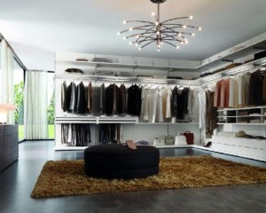 Large Space for Walking in Closets