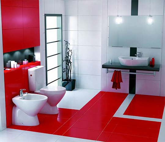 Luxury Bathroom Design With Small Space Storage (View 3 of 8)