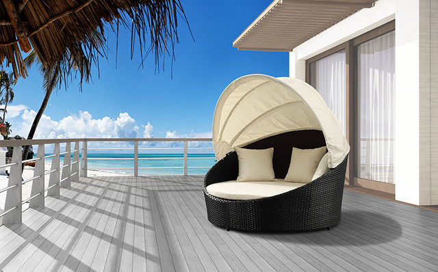 Mahogany Outdoor Furniture With Old Inspired Design (Image 2 of 9)