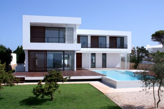 Minimalist Contemporary House Exterior Design (Image 5 of 10)