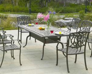 Modern Alumunium Patio Furniture Design