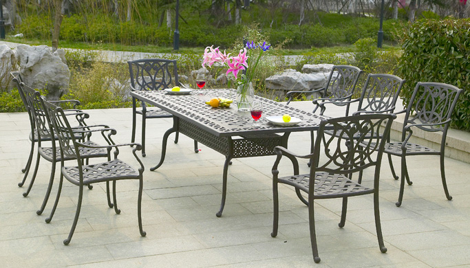 Modern Alumunium Patio Furniture Design (Image 9 of 14)