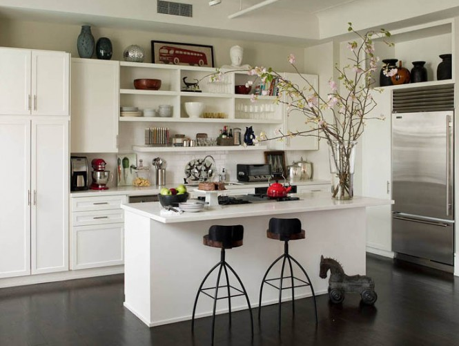 Modern Kitchen Shelves Design (Image 6 of 8)