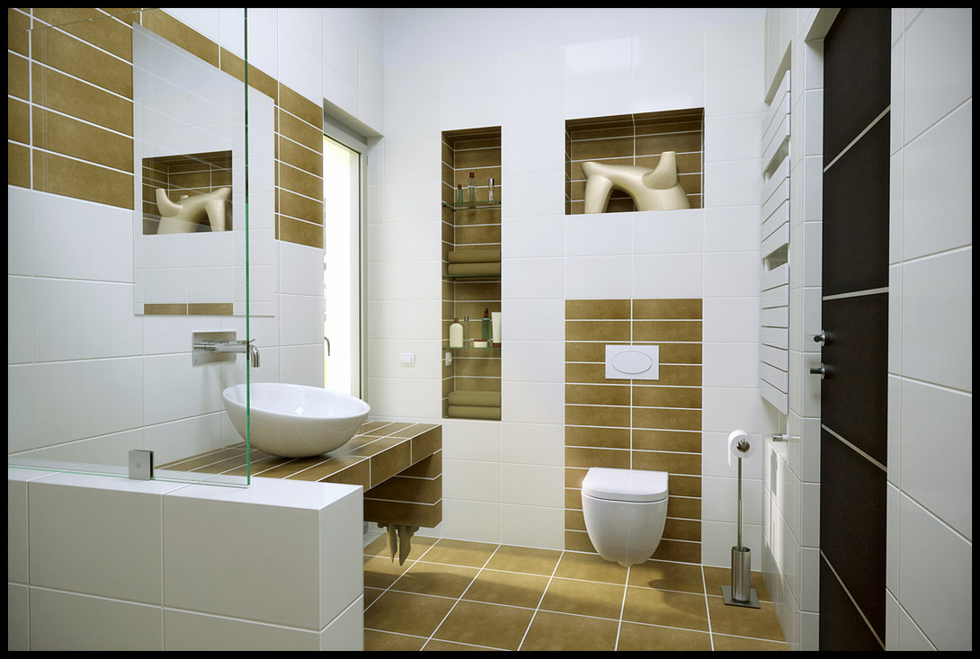 Modern Minimalist Bathroom (Image 7 of 8)