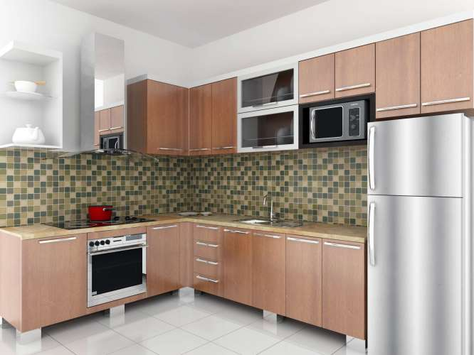 Modern Painting Kitchen (Image 7 of 8)