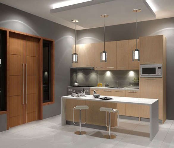 Modern Space Saving Kitchen Design (Image 6 of 10)