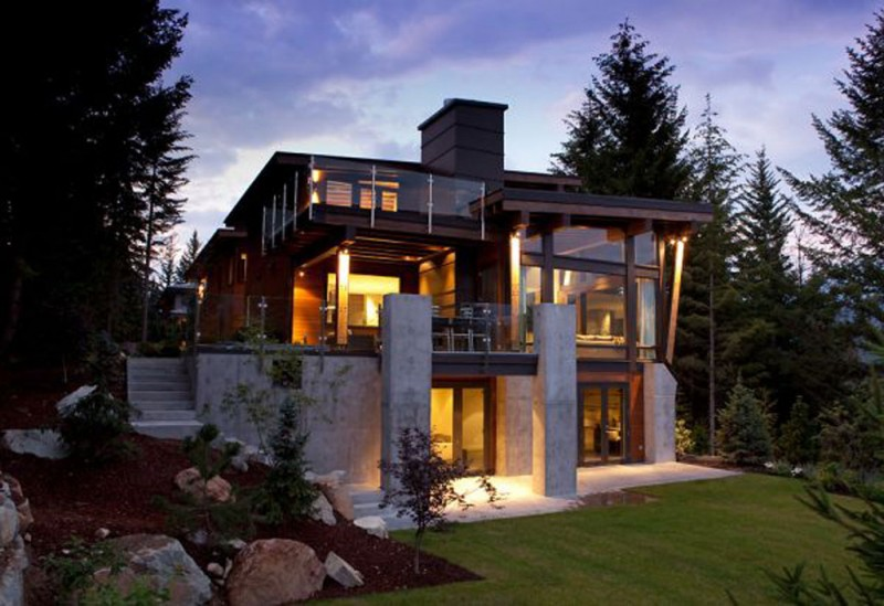 Exterior Latest Mountain Home Plans 2 of 8 Photos