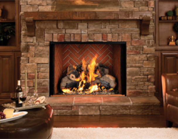 Natural Gas Fireplace Insert (View 9 of 10)