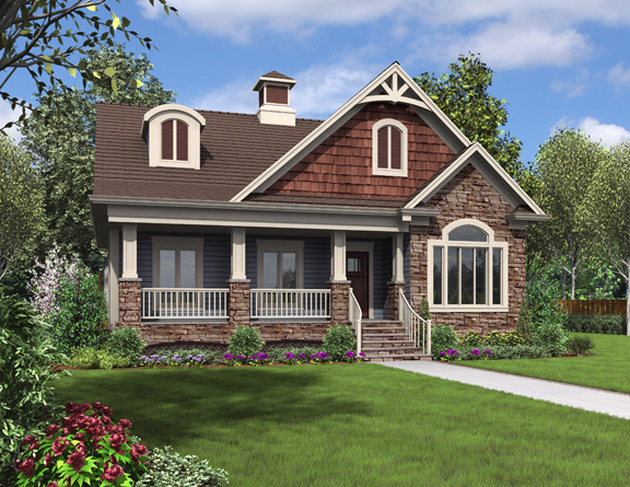 New Small Cottage Home Design (Image 4 of 10)