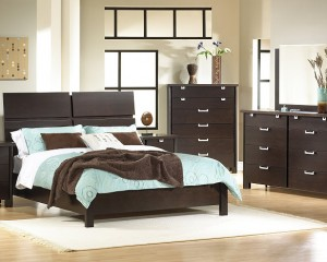 Pretty Brown Bedroom Furniture Design
