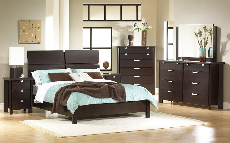 Pretty Brown Bedroom Furniture Design (Image 8 of 10)
