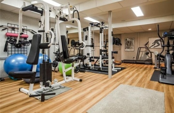 Pretty Gym Room Decoration (View 10 of 10)