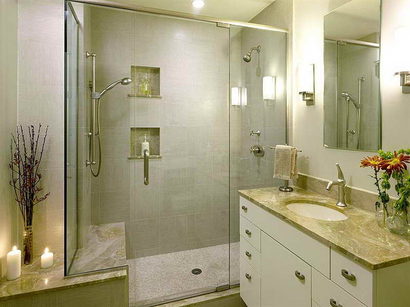 Remodeled Bathrooms Plans Luxury On A Budget (Image 6 of 10)