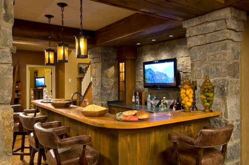 Setting Your Basement Kitchen Bar Ideas (Image 9 of 10)