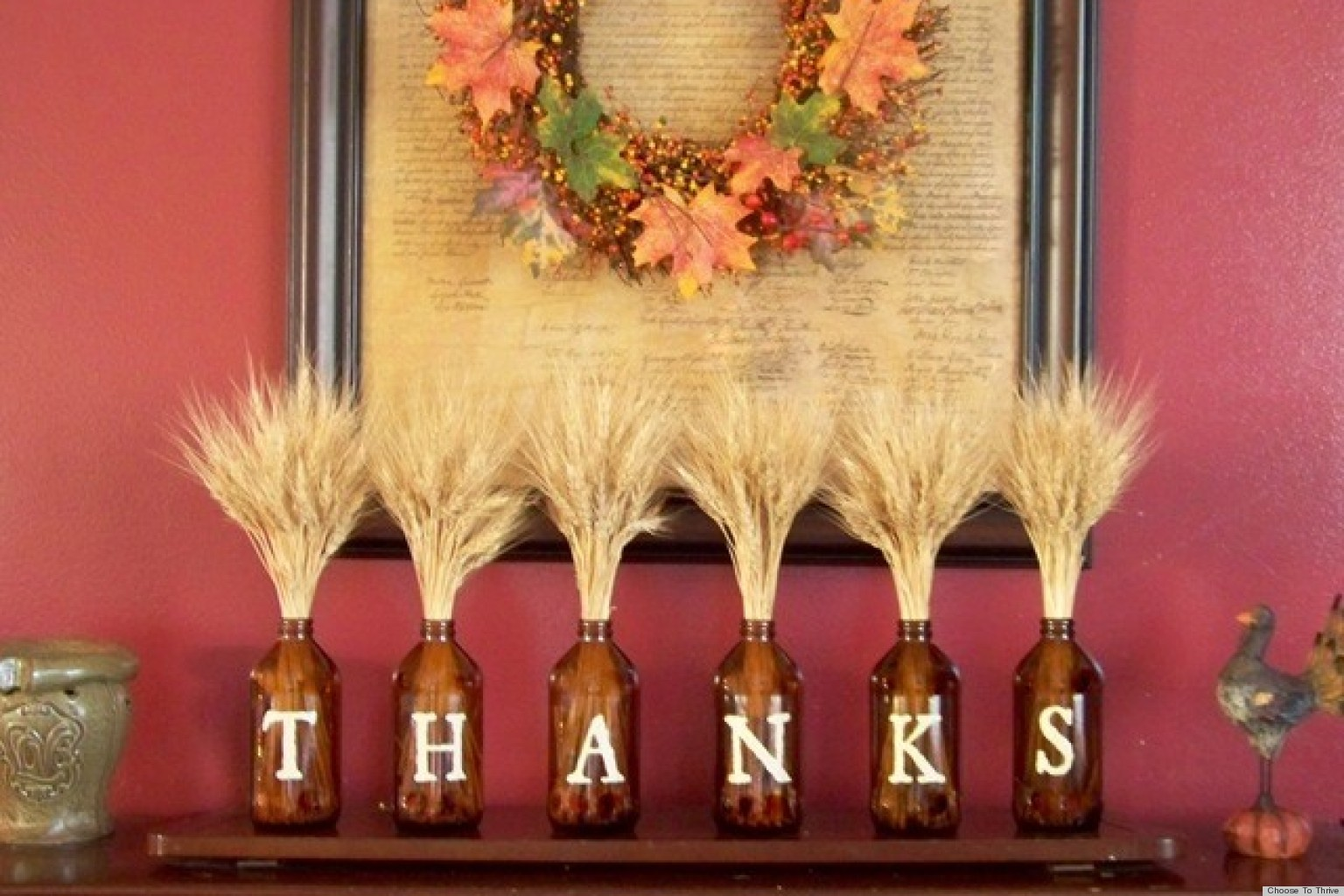 Setting For Thanksgiving Party Decor (Image 4 of 10)