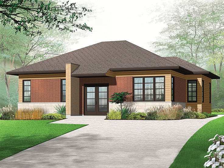 Exterior Affordable House Plans 3 of 10 Photos