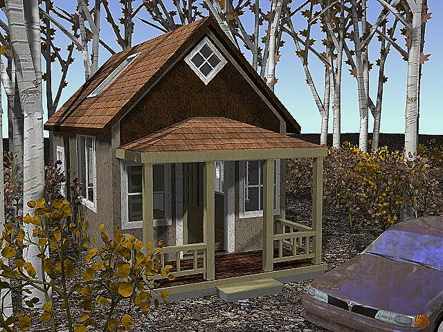 Exterior: Small Cottage Home Plans (#6 of 10 Photos)