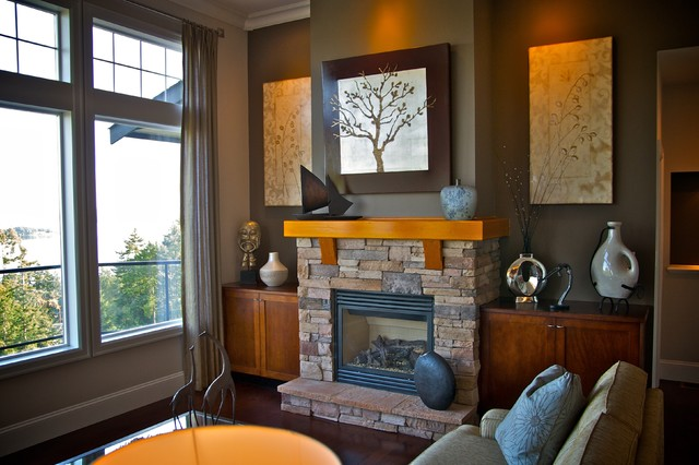Simple Fireplace Design (Image 7 of 10)