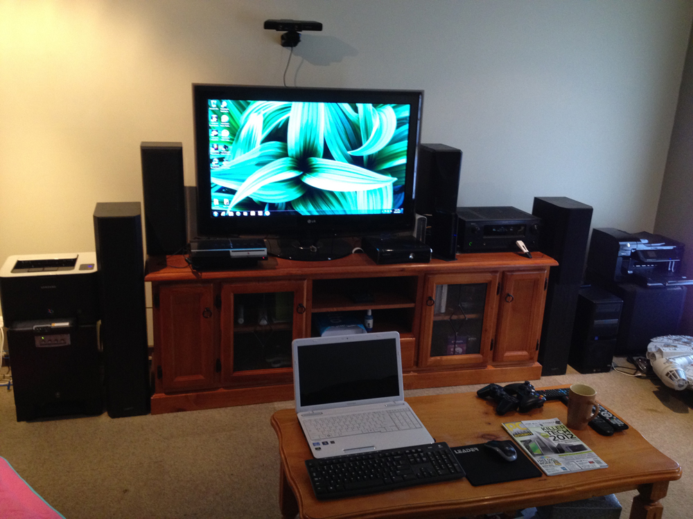 Simple Installing Home Theater (Image 9 of 10)