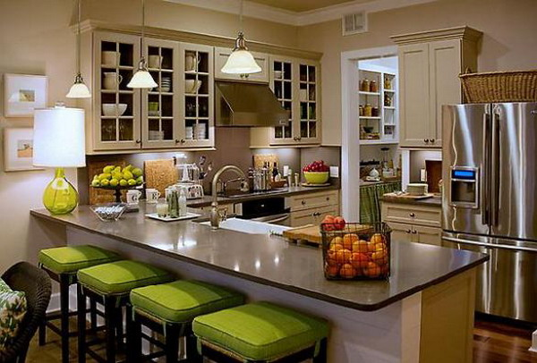 Small Compact Kitchen And Dining Room (Image 9 of 10)