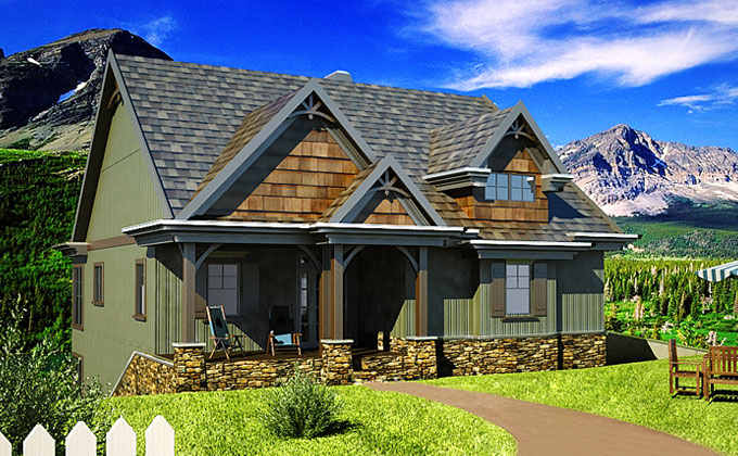Small Cottage House Plans With Autumn Place (View 8 of 10)
