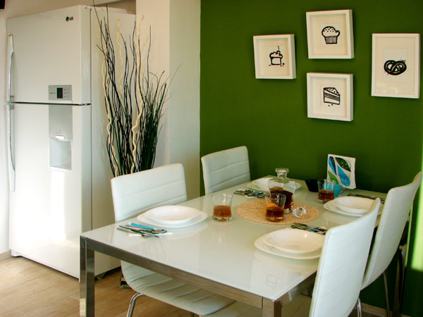 Modren Simple Dining Room Small Fresh Design Image 10 Of To