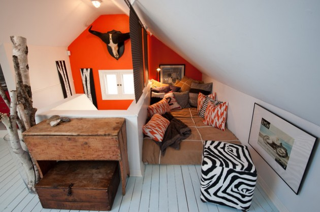 The Attic Room kids play room on the attic #2541 | interior ideas