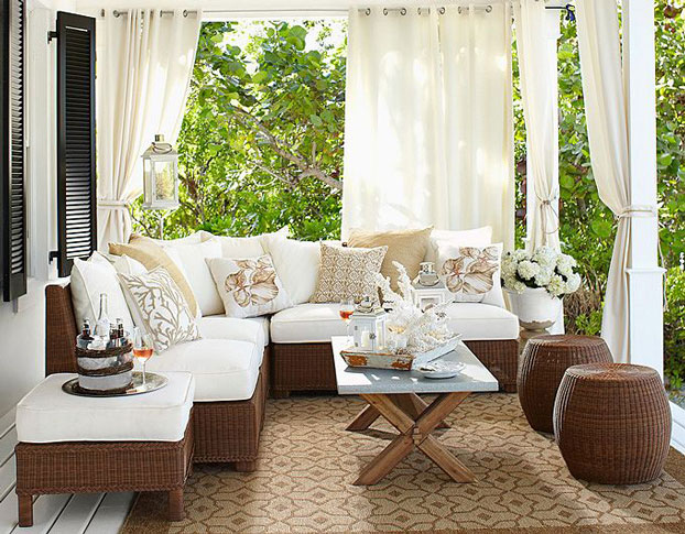 Stylish Comfortable Outdoor Furniture  (Image 7 of 10)