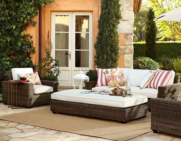 Stylish Relaxed And Enduring Outside Patio Furniture (Image 8 of 10)