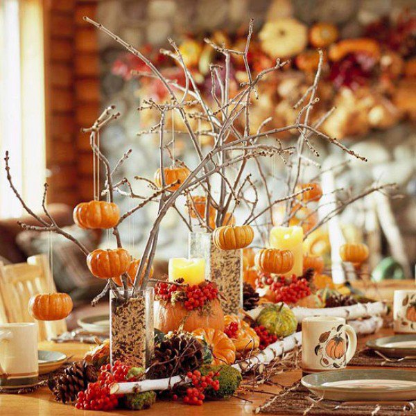 Thanksgiving Table Home Decoration (Image 10 of 10)
