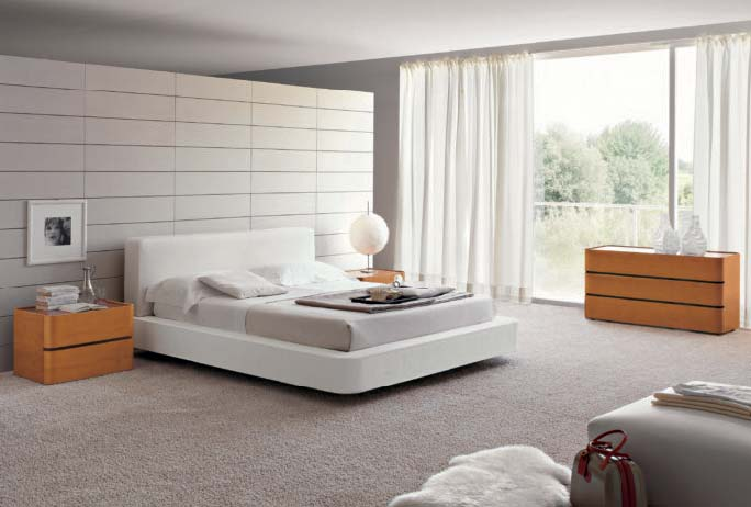 The Amazing Simplicity Of Modern Bedroom (Image 9 of 10)
