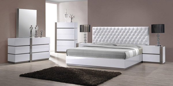 The Modern Bedroom Furniture (Image 10 of 10)
