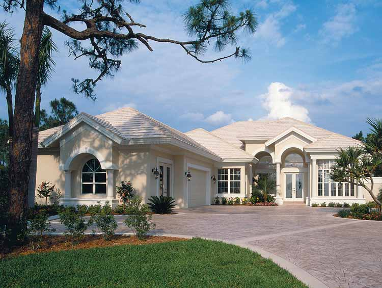 Florida style house plans 1747 exterior ideas for Two story florida house plans
