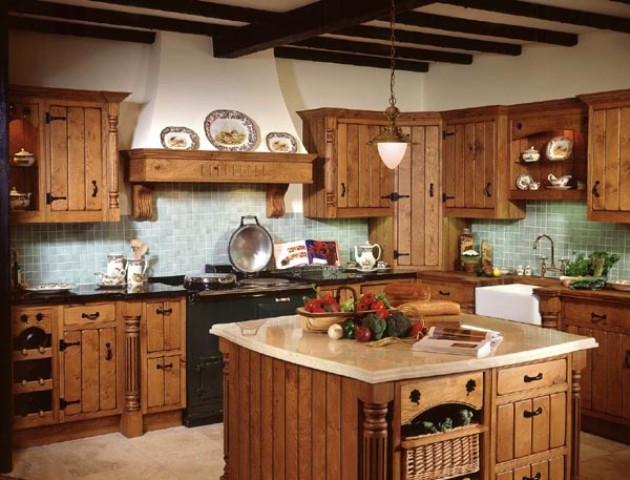 Traditional Country Kitchen Design Ideas