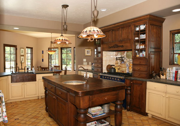 Traditional Country Kitchen (View 9 of 10)