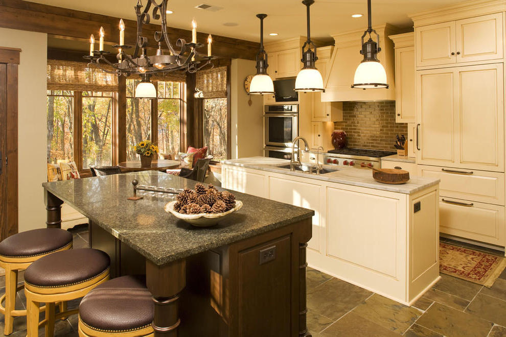 Traditional Kitchen Pendant Lighting (Image 9 of 10)
