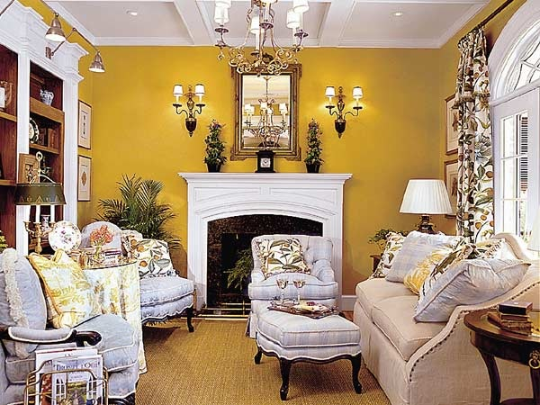 Traditional Southern Living Room Design Part 78