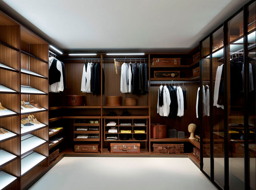 Walk In Closet For Men Masculine Closet Design (Image 7 Of 10)