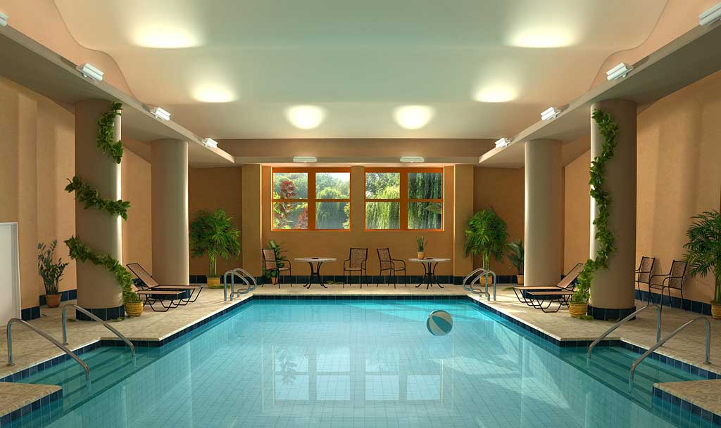 Featured Image of Cozy Private Indoor Swimming Pool