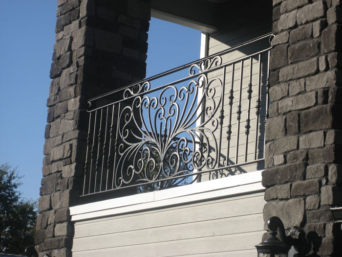 Wrought Iron Railings (Image 10 of 10)