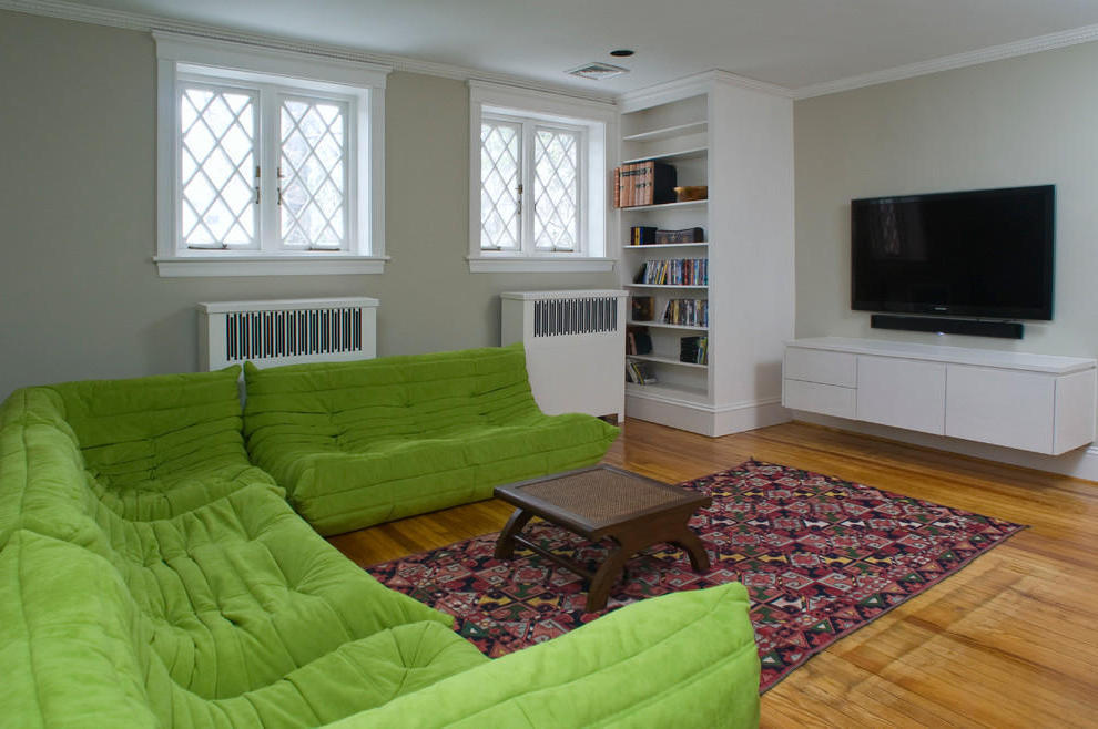 Minimalist Togo Sofa In Green Color (Image 9 of 17)