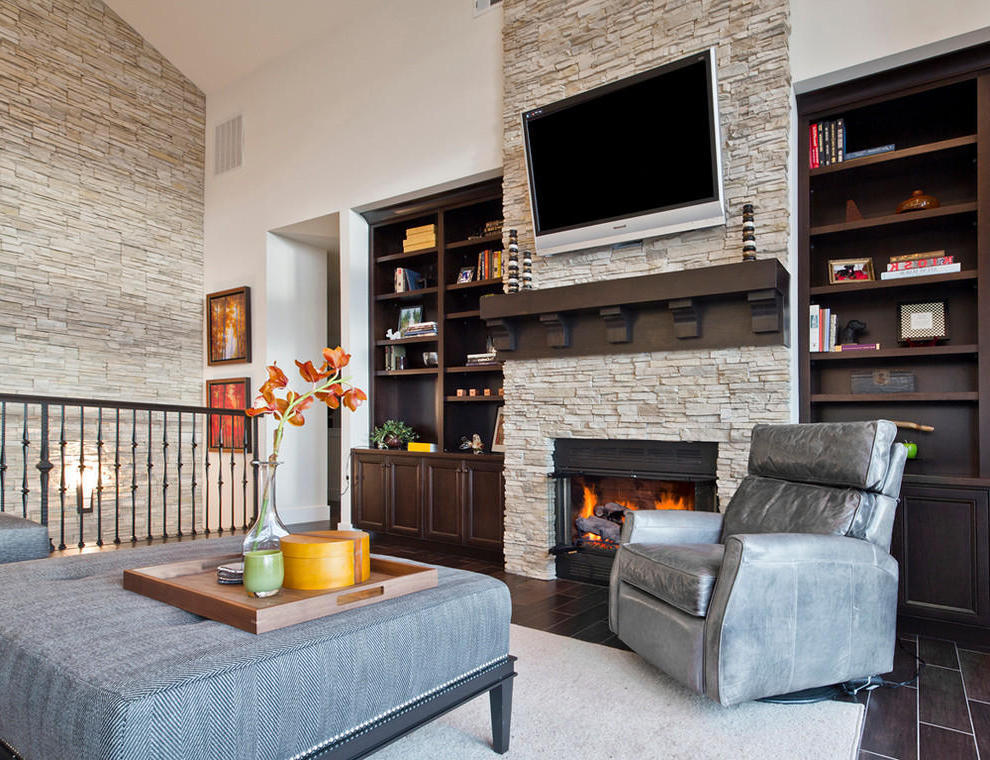 Featured Image of The Natural Warmness Of The Stone Fireplace