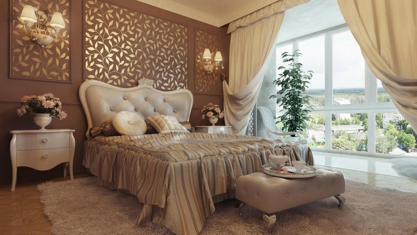 Traditional Bedroom With Elegant And Luxury Nuance (Image 6 of 9)