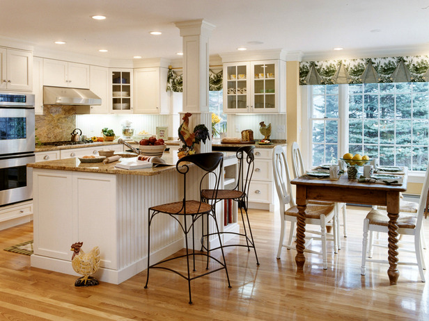 Featured Image of American Country Kitchen Design Style