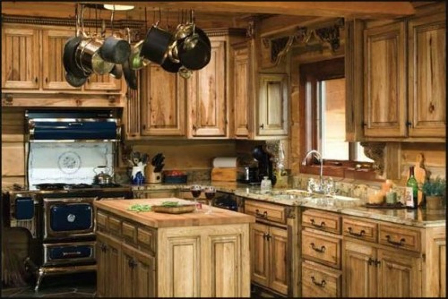 Best Rustic Kitchen With Wooden Furniture And Cabinet 3059 House Decoratio